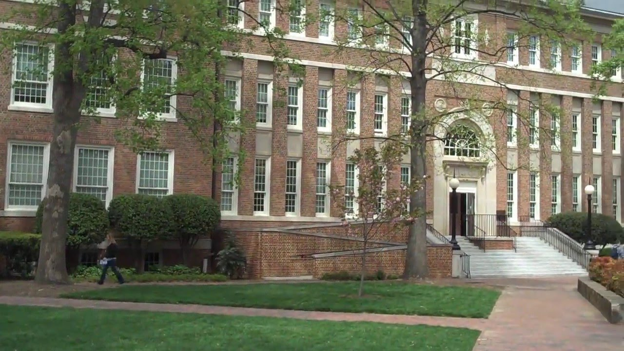 University of North Carolina Campus University of North Carolina