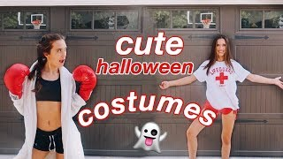 CUTE last-minute halloween costume ideas for teens! | Hannah Meloche