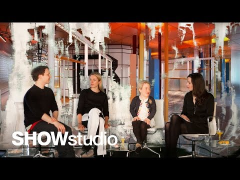 SHOWstudio: Balenciaga Womenswear - Autumn / Winter 2014 Panel Discussion