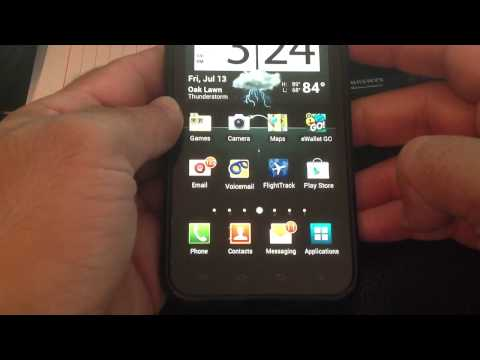 Samsung Galaxy S II 4g Epic ICS Tip 4: How to quickly restart your phone