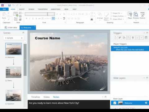 Storyline 2: Two Ways to Use Word Publishing