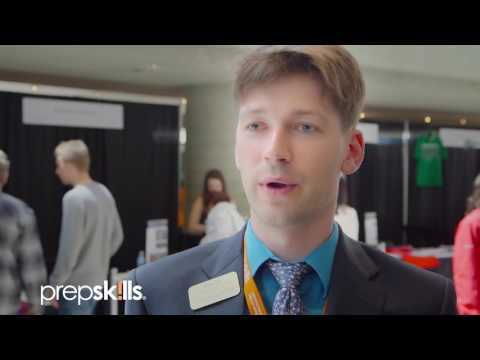 US College Expo 2016   Interview with George Washington University   Ben Toll