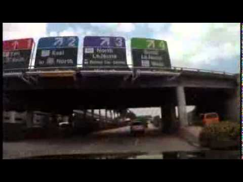 MIAMI INTERNATIONAL AIRPORT FLORIDA USA Budget Car Rental Directions Video