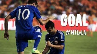 GOAL: Ignacio Piatti continues his brilliance in Montreal | Montreal Impact vs. LA Galaxy