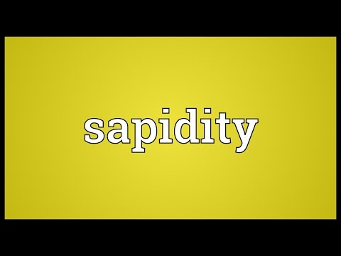 Header of sapidity