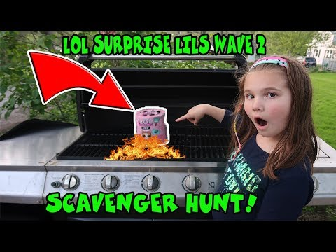 Wave 2 LOL Surprise Lils Scavenger Hunt! We Found An Ultra Rare!