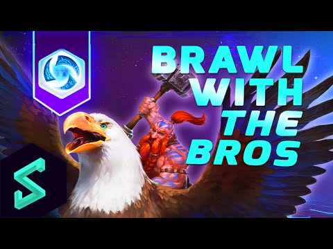 Heroes of the Storm Gameplay | Brawl With The Bros 20 | MFPallytime & Captain Shack | HoTs