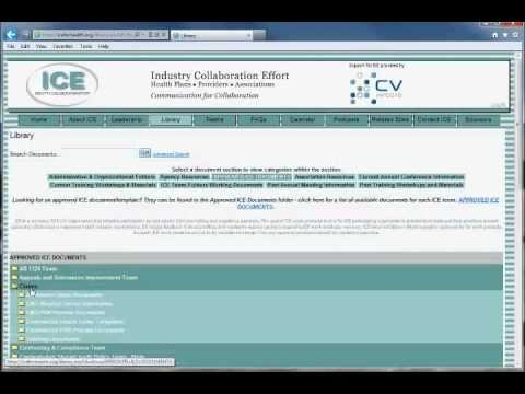 Tutorial - Browse the Library and Access Documents