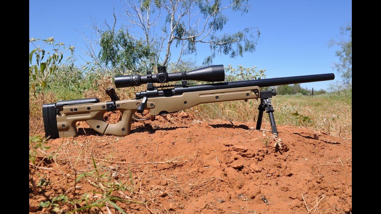 Custom Remington 700 Aac Sd 308 Youtube