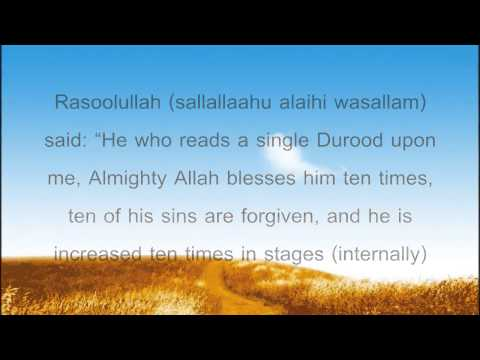 Durood Sharif Recitation Importance Virtues And Benefits video