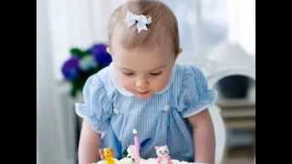 Happy 1st Birthday Princess Estelle of Sweden!