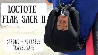 Loctote Flak Sack II | The Strongest Portable Safe for Your Travels & Daily Life