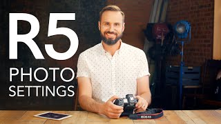 Part I: Canon EOS R5 Settings for Studio Photography - Complete Guide