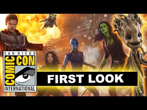 Comic Con 2016 Guardians of the Galaxy 2 - Mantis, Baby Groot, Teaser Trailer?