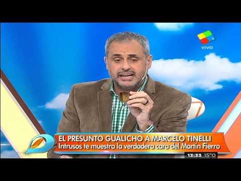 El gualicho en la mesa de Marcelo Tinelli