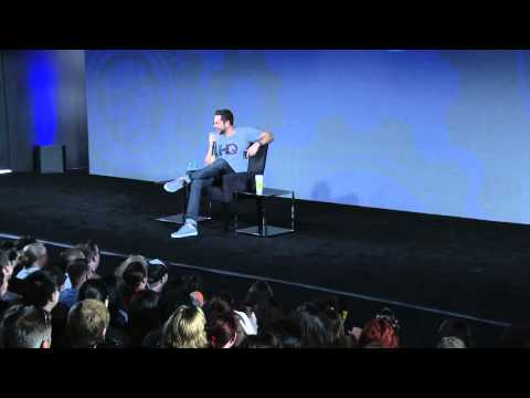 A Conversation with Zachary Levi live from#NerdHQ 2014