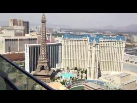 Wraparound Terrace Suite at the Cosmopolitan Las Vegas Hotel