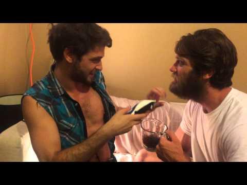Colby Keller's Beard Shaved Off by Duncan Black