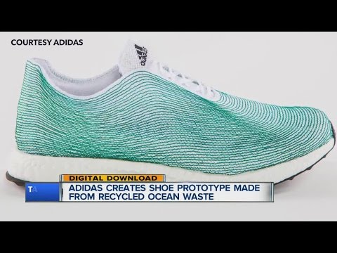 Adidas, Parley for the Oceans creates concept shoe with recycled ocean waste