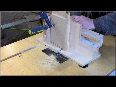 Cutting Box Joints On The Router Table
