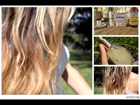 DIY Beach Waves Sea Salt Texturing Spray