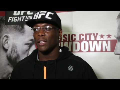 Ovince Saint Preux Discusses His Victory From UFC Nashville