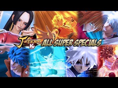 J-STARS Victory Vs - All Super Specials/Ultimate Attacks thumbnail