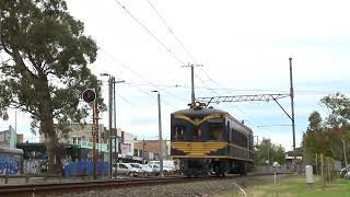 Metro Trains Melbourne followed by Victoria Railways DERM. -- PoathTV