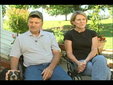 Randy and Cheryl West--chicken growers, family farmers for Tyson Foods