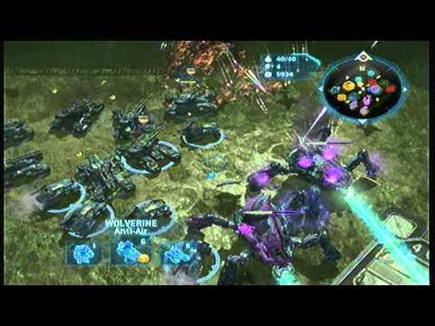 Exoplanet War Gameplay Halo Wars 3v3 Gameplay