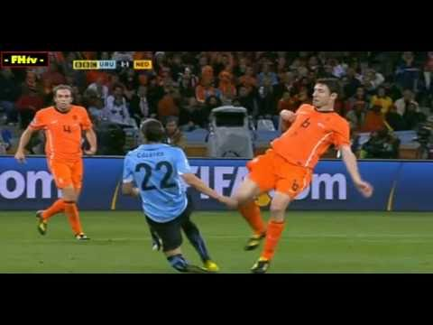 World Cup 2010 Most Shocking Moments 49-Holland Team