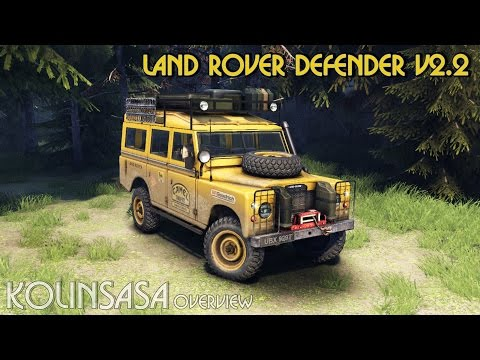 Land Rover Defender Series III v2.2 Blue