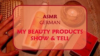 ASMR 🌾🌾🌾  MY BEAUTY PRODUCTS 🌾🌾🌾 WHISPERED
