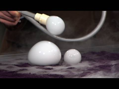 Dry Ice Boo Bubbles