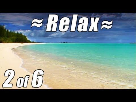 RELAX Best CARIBBEAN BEACH #2 Ocean Waves Relaxing Nature Sounds Relaxation Video Sleep Bahamas