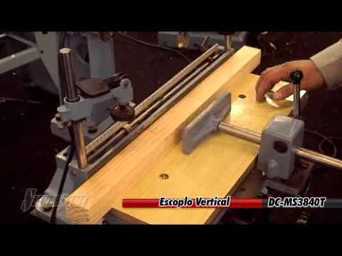 Silver line escoplo vertical para madera youtube - Maquinaria para relojes de pared ...