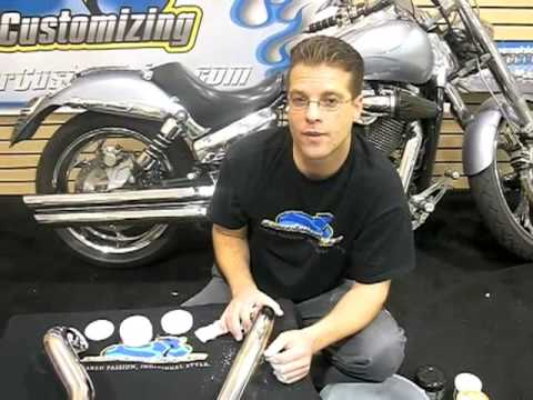 Motorcycle Exhaust Maintenance - Do it Yourself - Video Guide: Tip of the Week