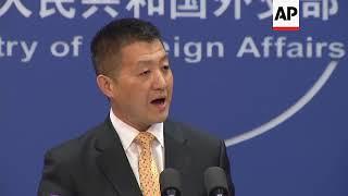 China urges NKorea to proceed with Trump summit amid threats