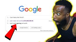 GOOGLING MYSELF & MY NET WORTH! How Much Money Do I Make From Youtube?