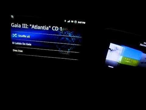 Android 2.3 vs Symbian Anna v25 - REPRODUCTOR DE MÚSICA