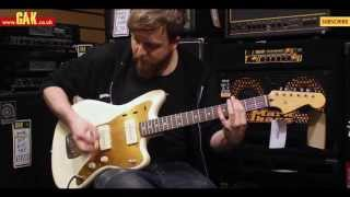 Squier - J Mascis Jazzmaster Demo at GAK