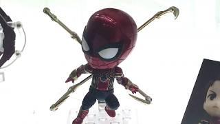 TCC2018 GSC Nendoroid 1037 - Spiderman - Infinity Edition ねんどろいど1037  - スパイダーマン - インフィニティ・エディション