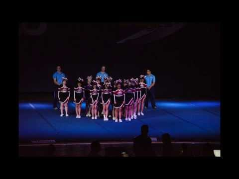 Calvary Christian Academy - Cheer Competition 2-15-2014 Anaheim