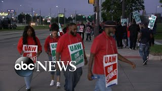 Nearly 50K workers strike against General Motors