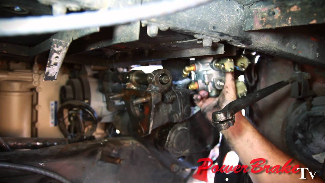Installing Air Hydraulic Brake System Valve Conversion