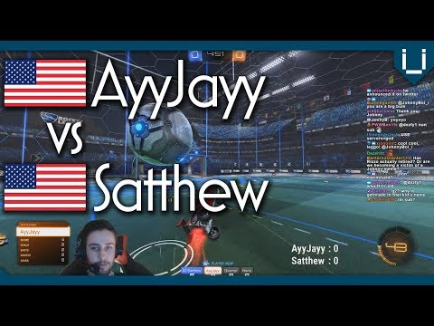 2 of USA's Best Flickers | AyyJayy vs Satthew | Rocket League 1v1