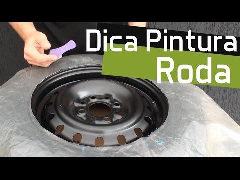 Como pintar a roda sem sujar e desmontar a roda e pneu