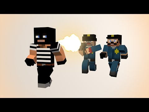 If Minecraft Had Cops