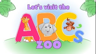 ABC Alphabet - Learn by repeating. ABC Zoo Cartoon for children and babys