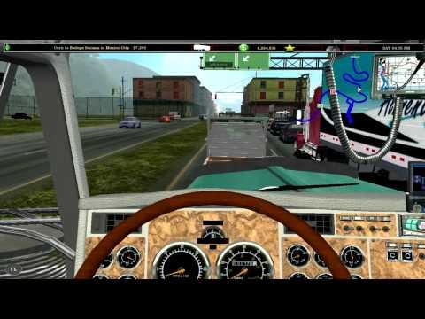 kenworth w900 18 wheels of steel 18 wos haulin driving around w900l 18
